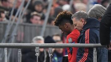 Bayern München: Coman verletzt sich im Spiel gegen Tottenham