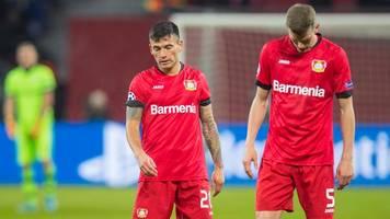 champions league: pleite gegen juventus: bayer leverkusen verpasst das achtelfinale
