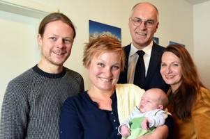 Die kleine Melba ist da: Augsburg knackt die 300.000-Einwohner-Marke