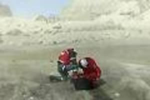 Katastrophe auf White Island - Vulkanausbruch in Neuseeland: Ärzte ordern 1,2 Millionen Quadratzentimeter Haut