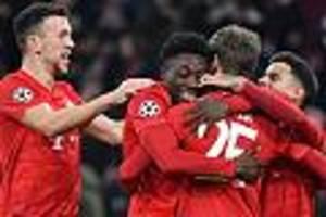FC Bayern - Fünf Zweier und zwei Vierer - die Münchner in der Einzelkritik
