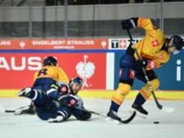 eishockey: das leere tor nützt auch nichts