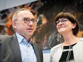 Zum Frühstück im Kanzleramt: Neue SPD-Führung trifft Kanzlerin Merkel
