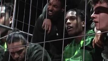 schlägerei in stockholm: nach u-haft: rapper a$ap rocky wagt sich für konzert zurück nach schweden