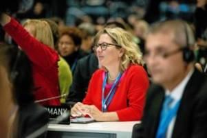 UN-Klimagipfel in Madrid: Ministerin Svenja Schulze irritiert mit guten Ratschlägen