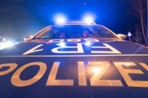 Verkehr: Unfall mit Fahrerflucht löst mehrstündige Suchaktion aus