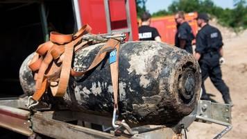 zugverkehr eingeschränkt: bombenentschärfung in oranienburg