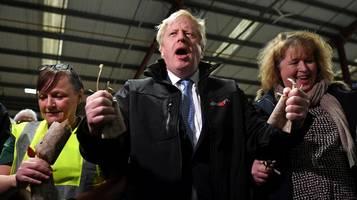 Wahl in Großbritannien: Johnson feiert: Großartigste Demokratie der Welt