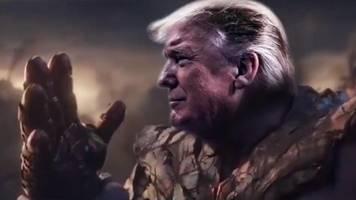 Donald Trump – US-Präsident lässt sich als Comic-Massenmörder inszenieren