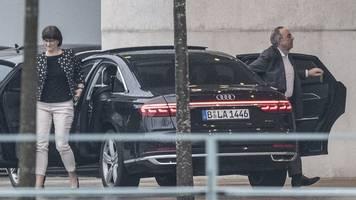 Neue SPD-Spitze: Esken und Walter-Borjans führen gutes Gespräch mit Merkel
