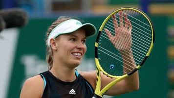 abschiedsspiel: wozniacki spielt letztes match gegen serena williams