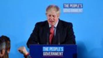 EU-Austritt: Boris Johnson will den Brexit fristgerecht erledigen