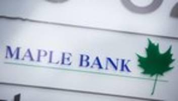 Maple Bank: Zwei Banker im Cum-Ex-Skandal festgenommen