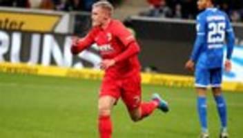 Bundesliga, 15. Spieltag: Augsburg gewinnt gegen Hoffenheim