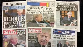 Parlamentswahl in Großbritannien: Die Briten haben sich für eine Mogelpackung entschieden – das Presseecho auf Johnsons Sieg