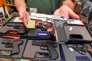 Bundestag: Waffenrecht wird verschärft: Das soll sich jetzt ändern