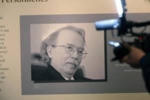 Literarisches Denkmal: Walter-Kempowski-Ausstellung in Rostock