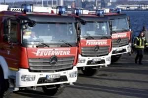 Schleswig-Holstein: 17 Millionen Euro für neue Löschfahrzeuge im Norden