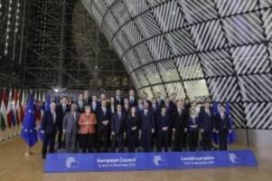 Spitzentreffen in Brüssel: EU-Gipfel berät Brexit und Eurozonen-Reform