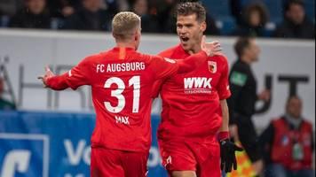Bundesliga: Eiskalt! FC Augsburg schießt Hoffenheim ab