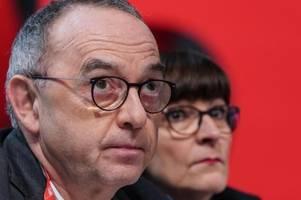 Mehrheit zweifelt an Erfolgschancen der neuen SPD-Spitze