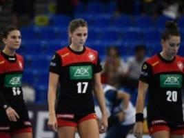 Handball-WM: Deutsche Handballerinnen verpassen Olympia
