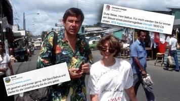 Trauer um Schauspieler: Für mich werden Sie immer am Steuer eines Amalfi 1800 sitzen: Fans verabschieden sich von Gerd Baltus