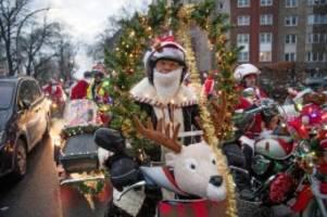 Berlin-Neukölln: Spendenaktion - Biker auf Weihnachtstour durch Berlin