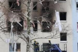 Wohnungen zerstört: Nach Explosion in Blankenburg: Stehen vor dem Nichts