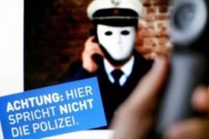 Kriminalität: Über eine Million Euro Schaden: Falsche Polizisten im Norden