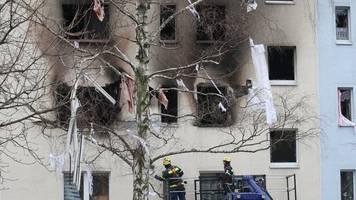 wohnungen zerstört - nach explosion in blankenburg: stehen vor dem nichts