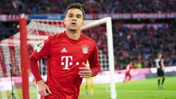 FC Bayern schießt sich aus der Krise – Wahnsinns-Treffer von Philippe Coutinho