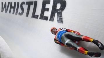 Weltcup-Rennen: Rodler Loch zurück auf dem Podium - Zweiter in Whistler