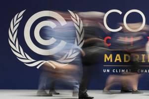 un-klimakonferenz in madrid geht in die verlängerung