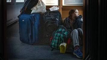 Klimaaktivistin auf dem Heimweg: Greta Thunberg fährt Deutsche Bahn – auf dem Boden