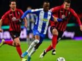 Feuer und Fehler bei Hertha BSC