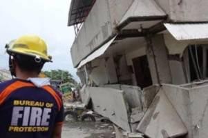 Pazifischer Feuerring: Mindestens vier Tote bei Erdbebenserie auf Philippinen