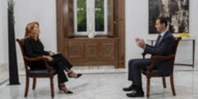 assad-interview im italienischen tv: schwatz mit dem diktator