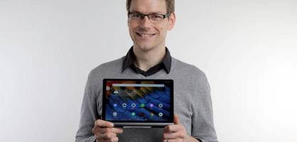 das lenovo yoga smart tab ist smart display und tablet in einem