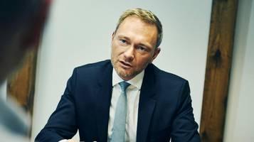 FDP-Chef Christian Lindner: Die Grünen ordnen dem Klima-Absolutismus alles unter