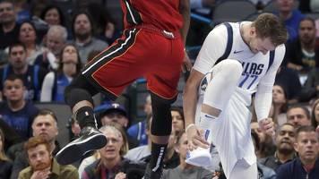 basketball in nordamerika - nba: mavericks verlieren spitzenspiel und doncic