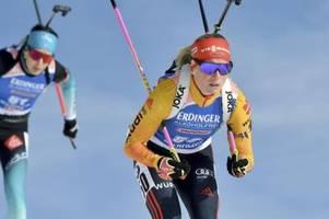 biathlon 2019/20: gesamtwertung männer und frauen am 15.12.19