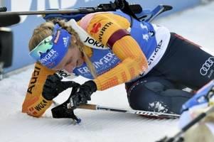 Biathlon Weltcup 2019/20: Ergebnisse und Sieger heute am 15.12.19