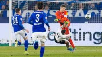 Nübel-Foul überschattet Schalker Sieg über Frankfurt