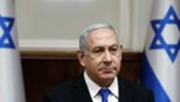 benjamin netanjahu: raketenangriff aus dem gazastreifen unterbricht wahlkampfauftritt