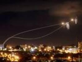 israel beantwortet raketenbeschuss mit luftangriffen auf hamas-ziele