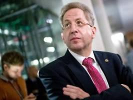 regierungschef in thüringen?: hans-georg maaßen bringt sich in position