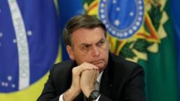 ein jahr bolsonaro: regieren mit vulgären sprüchen