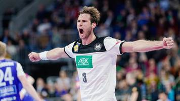 deutsche handballer besiegen island im em-test mit 33:25