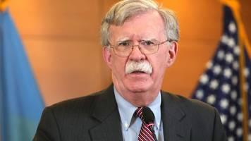 ehemaliger sicherheitsberater - trump-amtsenthebungsverfahren: bolton zu aussage bereit